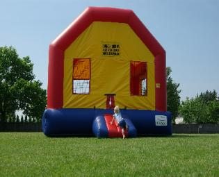 bounce House front