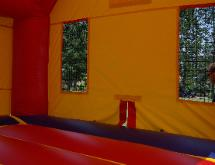 Bounce house inside